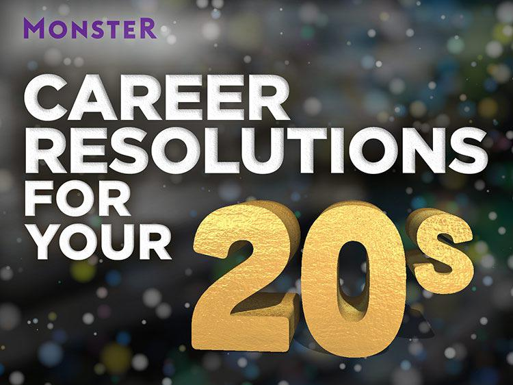 The best New Year's career resolutions for people in their 20s