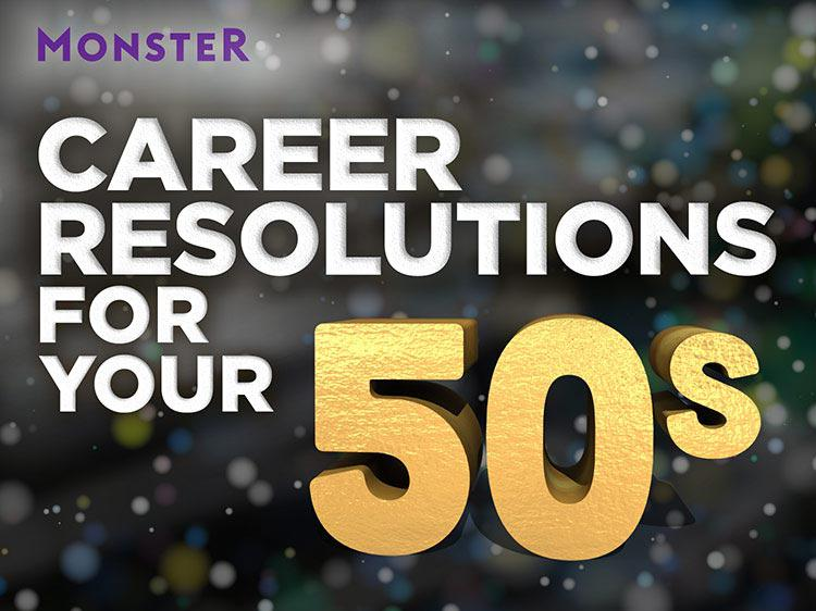 The best New Year's career resolutions for people in their 50s