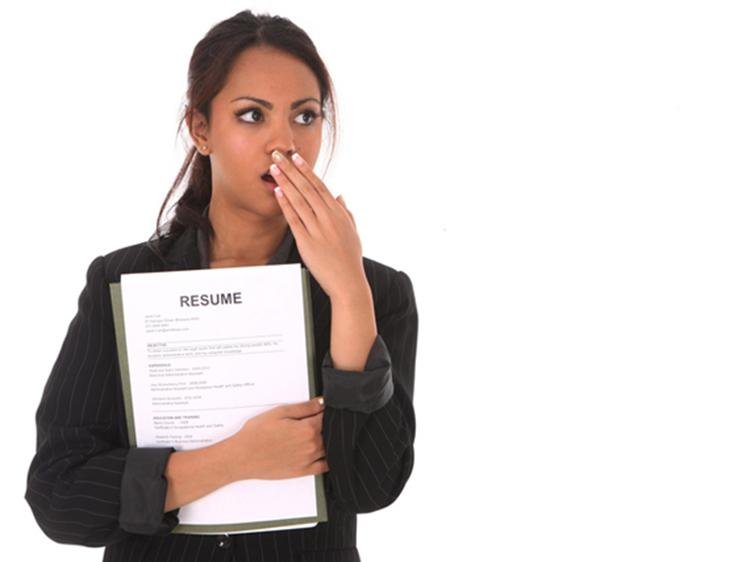What you should never put on your resume