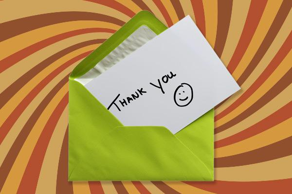Thank you notes: They're not just for interviews anymore