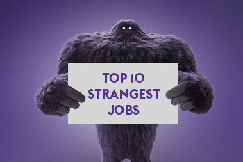 High Quality Top 10 Weirdest Jobs