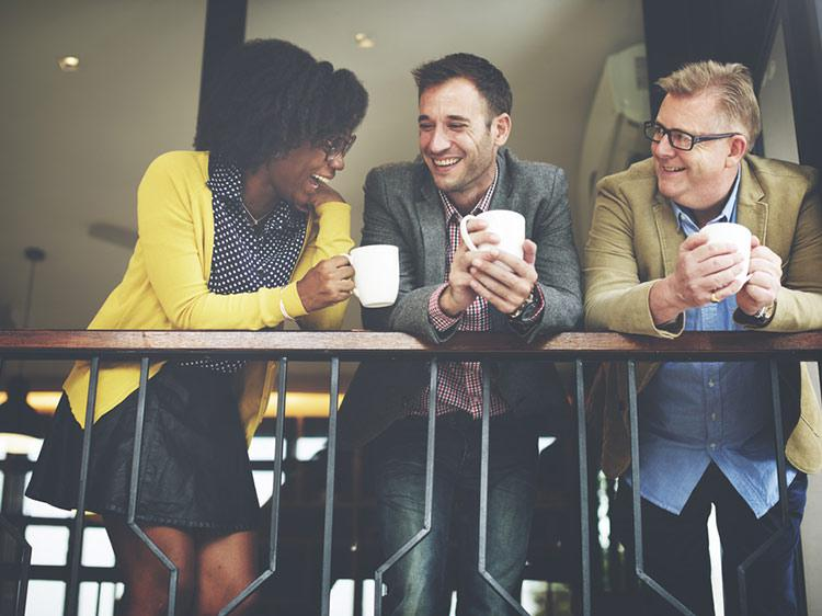 The 5 people you need to make friends with at work