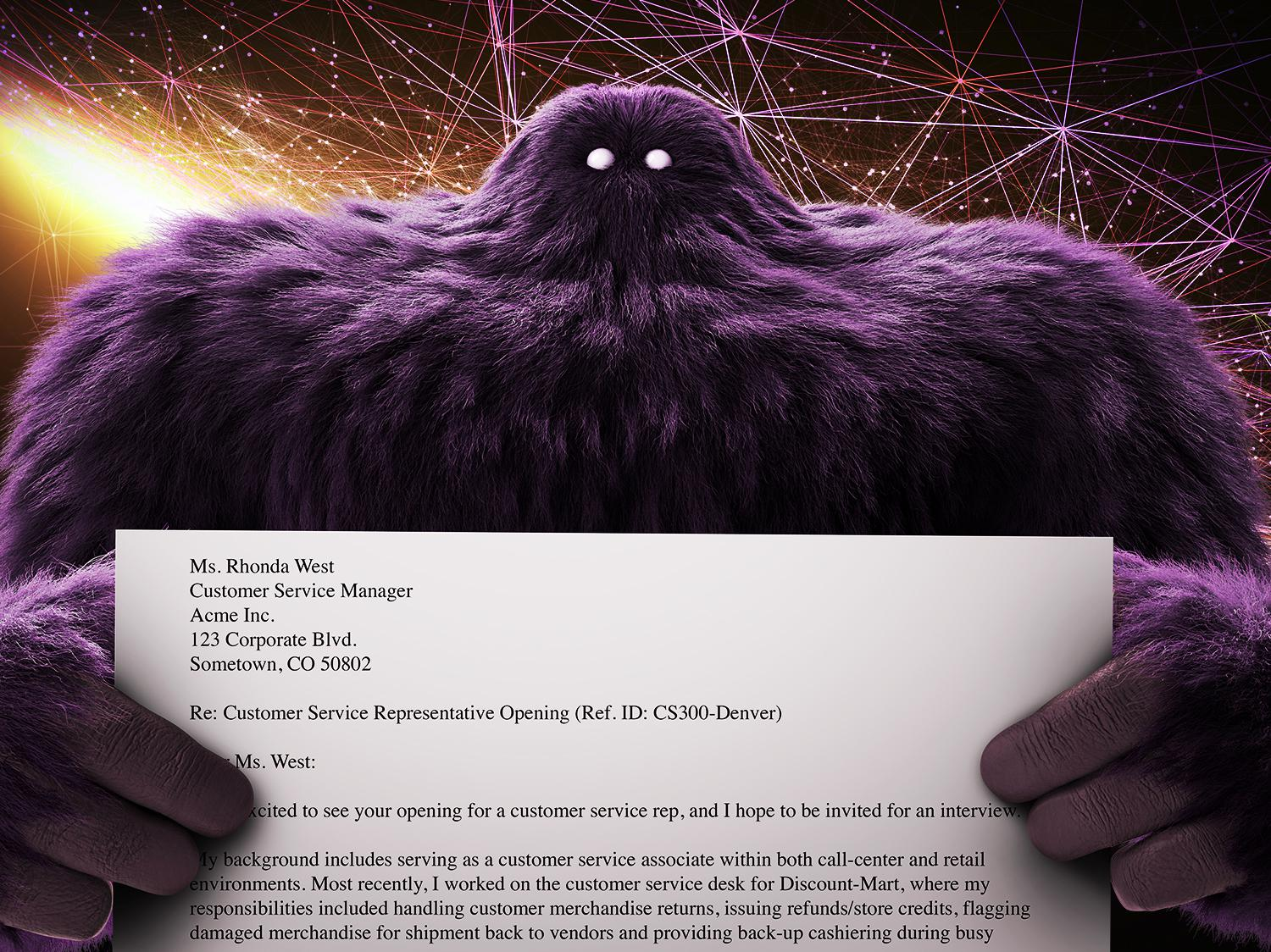 cover letter format sample monster com