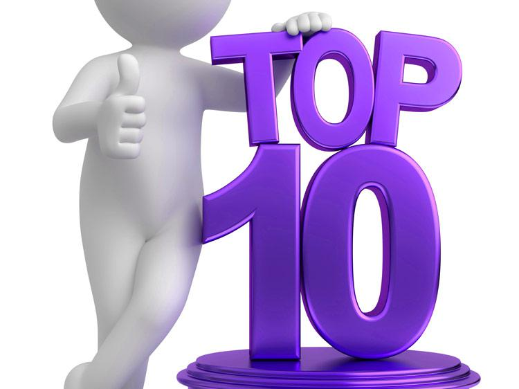 July Top 10's - Where The Retail Jobs Were