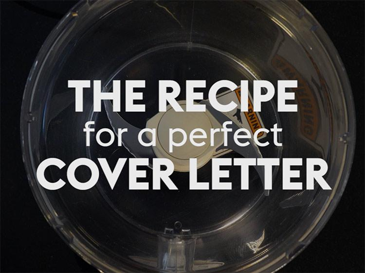 The Recipe For A Perfect Cover Letter  The Perfect Cover Letter