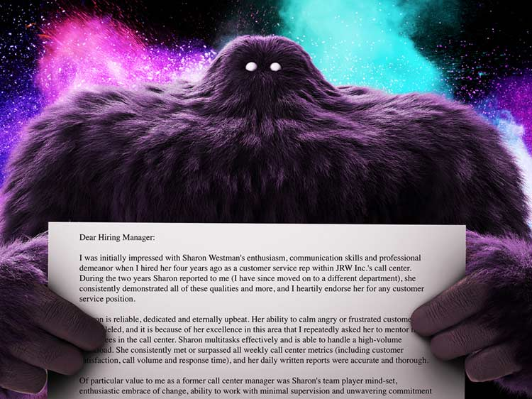 Recommendation Letter Sample  MonsterCom