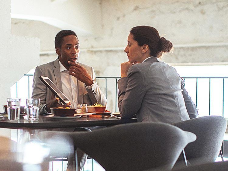 How to nail the most awkward kind of interview the lunch date how to nail the most awkward kind of interview the lunch date expocarfo Choice Image