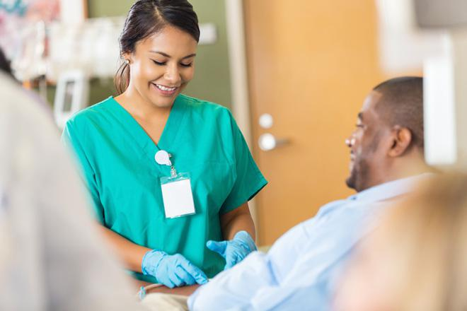 Patient Connection Is A Draw For Dialysis Nurses