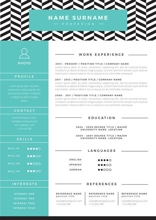 modern resume template senior level 2018 - Selo.l-ink.co