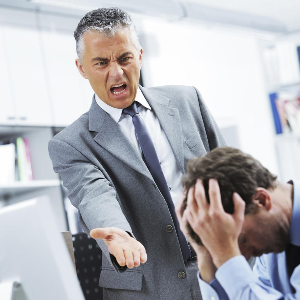 Study finds surprising tactic to be effective in handling a hostile boss