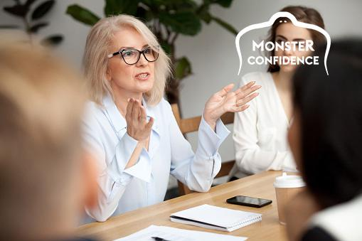 Mentors and networking for self-confidence