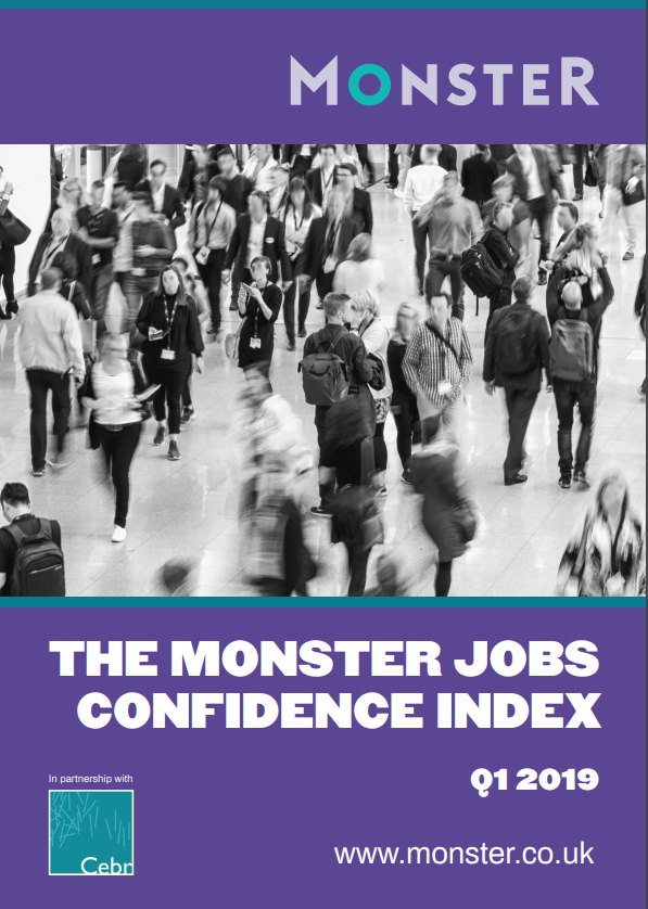 Monster Jobs Confidence Index Q1 2019
