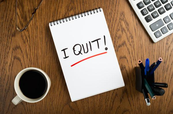 How to quit your job without burning bridges