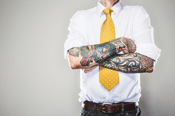 e3e23db21ea83 Should you cover up tattoos for a job interview