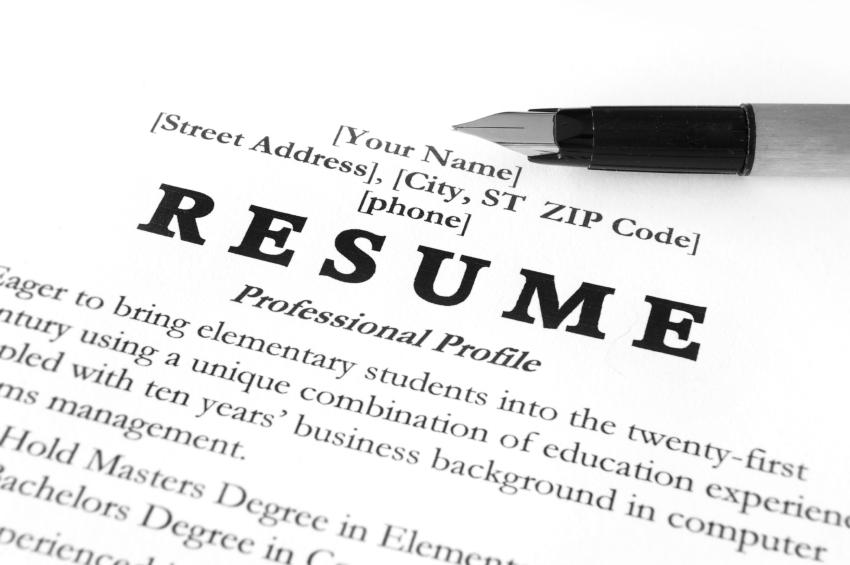How To Write A Resume Tips